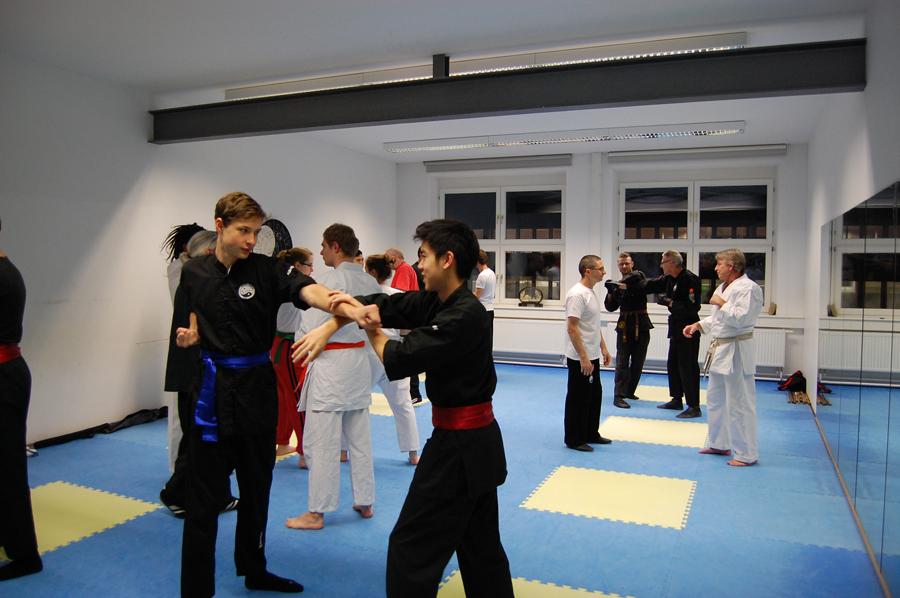Wing Chun beim Jahresausklang 2016